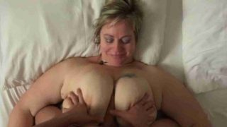 Chubby MILF Amateur BBW Fucked Hard With Loud Moaning